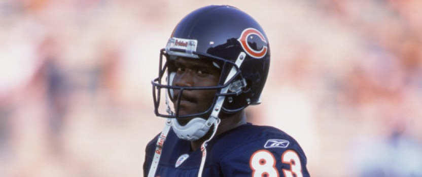 Chicago Bears receiver charged with felony