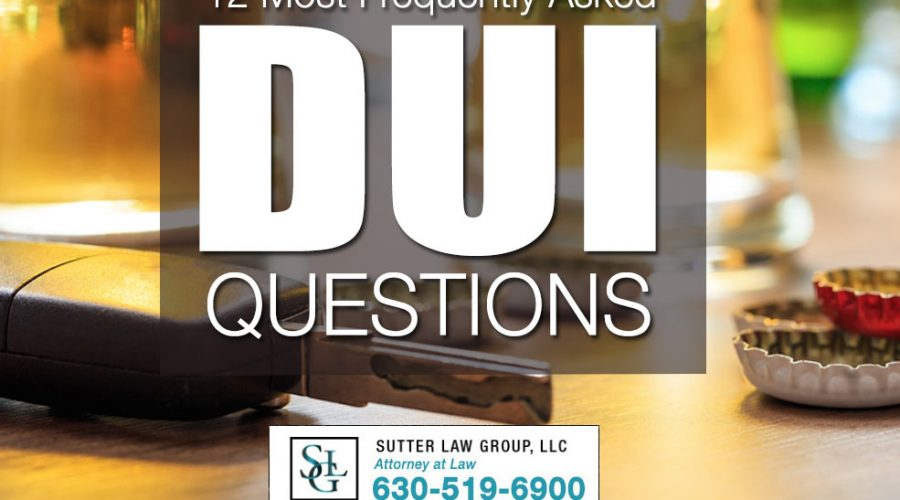 Most Frequently Asked DUI Questions