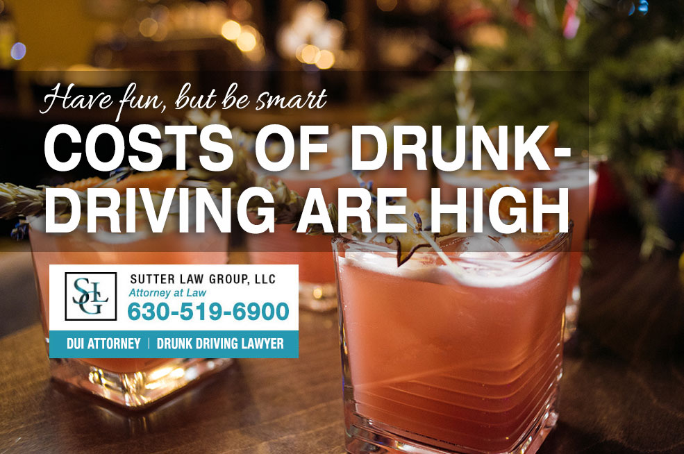 Be Careful, The Cost of Drunk Driving Are High