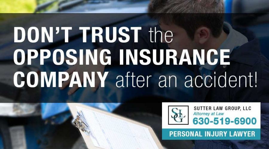 Don't Trust That Opposing Insurance Company After an Accident